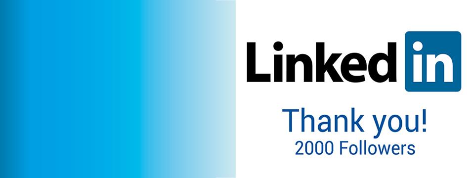 HSD LinkedIn page more than 2000 followers